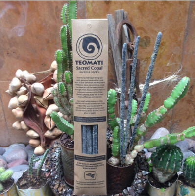 Teomati Sacred Copal Incense Sticks