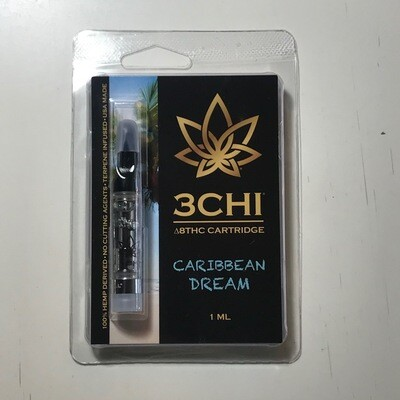 3CHI 950mg Delta8 Caribbean Dream  1mL Cartridge