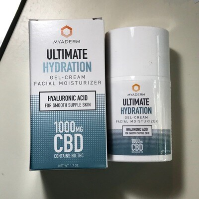 Myaderm 1000MG Ultimate Hydration Face Lotion - 1.7 oz