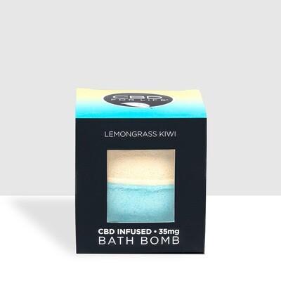 CBD For Life Lemongrass/Kiwi Bath Bomb - 35MG