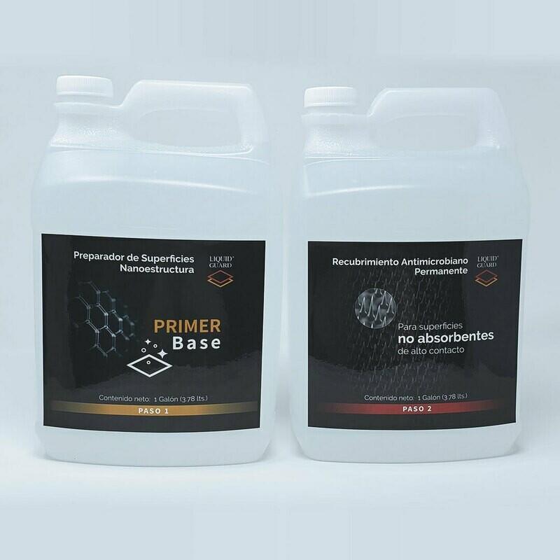 Kit PROFESIONAL:  Liquid Guard PRIMER Base + No Absorbente