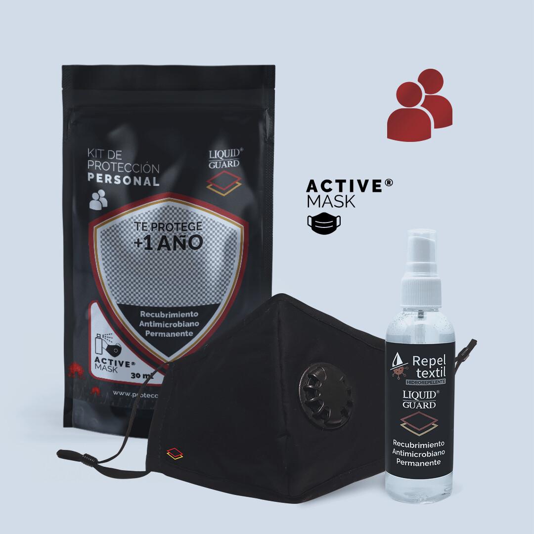 KIT PERSONAL: ActiveMask™, Liquid Guard® 30ml