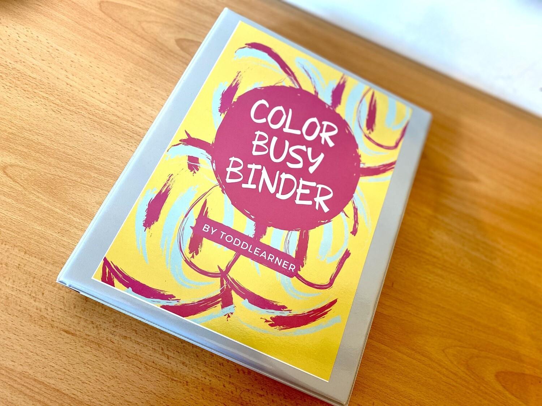 Color Binder By Toddlearner