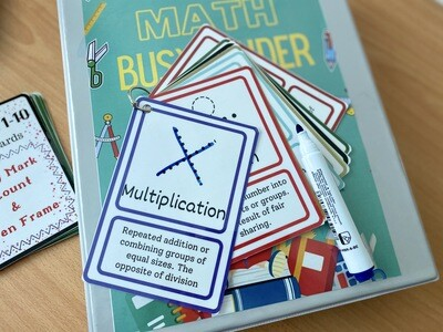 Toddler Math Busy Binder By Toddlearner