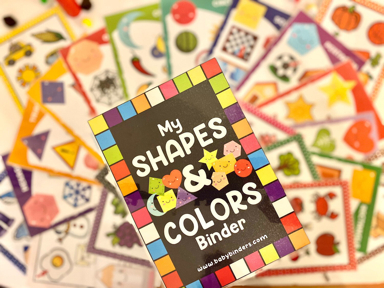 Shapes & Colors Cards