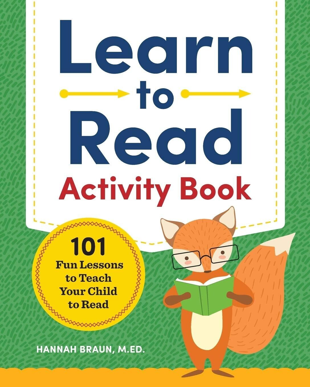 Learn to Read Activity Book: Illustrated