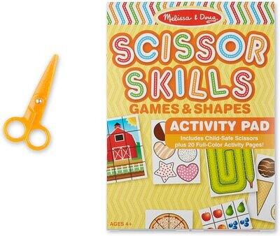 Scissor Skills Preschool Workbook for Kids.