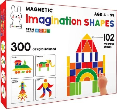 Play Poco Magnetic Imagination Shapes