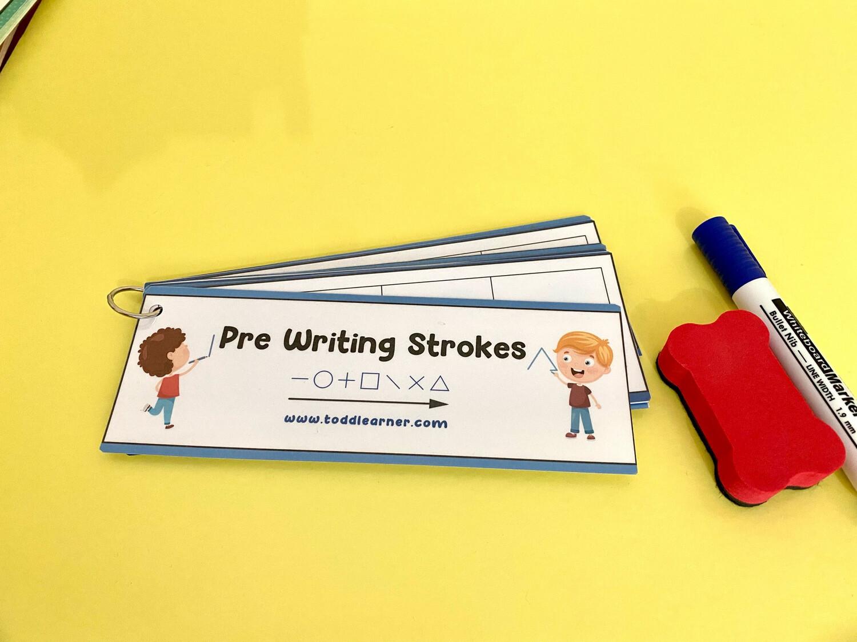 Pre Writing Strokes Practice Bundle