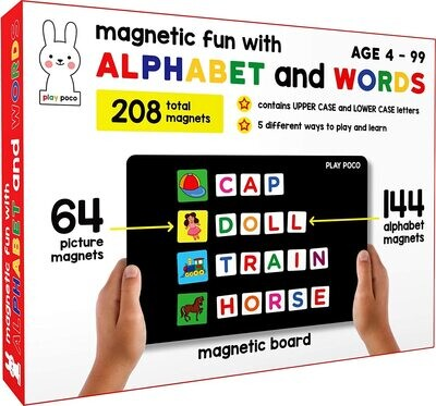 Play Poco Magnetic Fun with Alphabet and Words