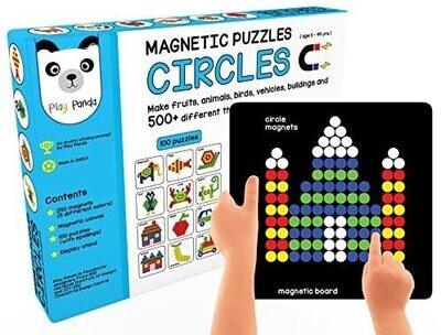 Play Panda Magnetic Puzzles Circles
