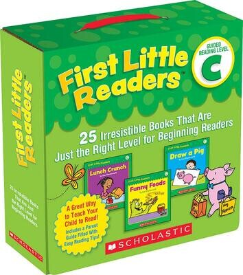 First Little Readers: Guided Reading Level C (Parent Pack): 25 Irresistible Books