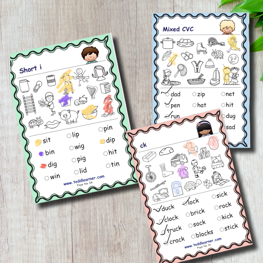Phonics Search Workbook For 3-5 Years