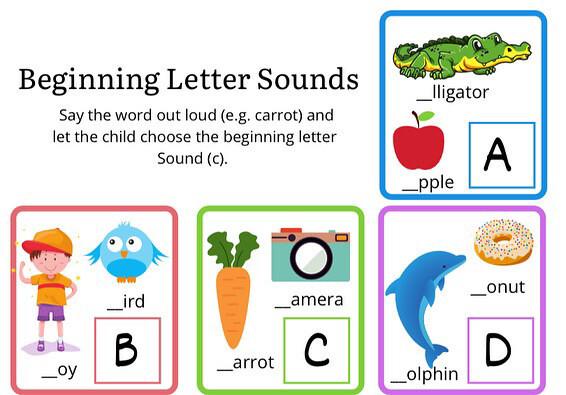 Kindergarten Learning Binder For Kids