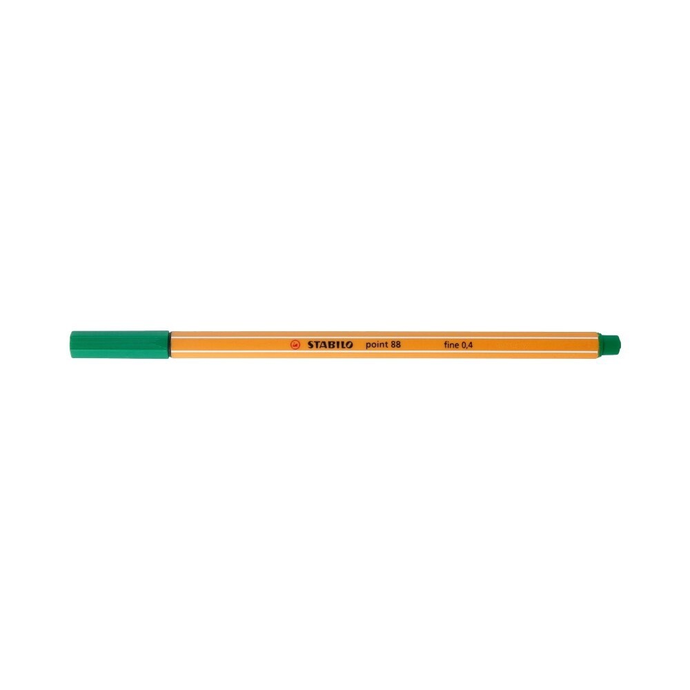 """Stabilo"" Ручка капиллярная 0.4 мм зеленый 88/36"