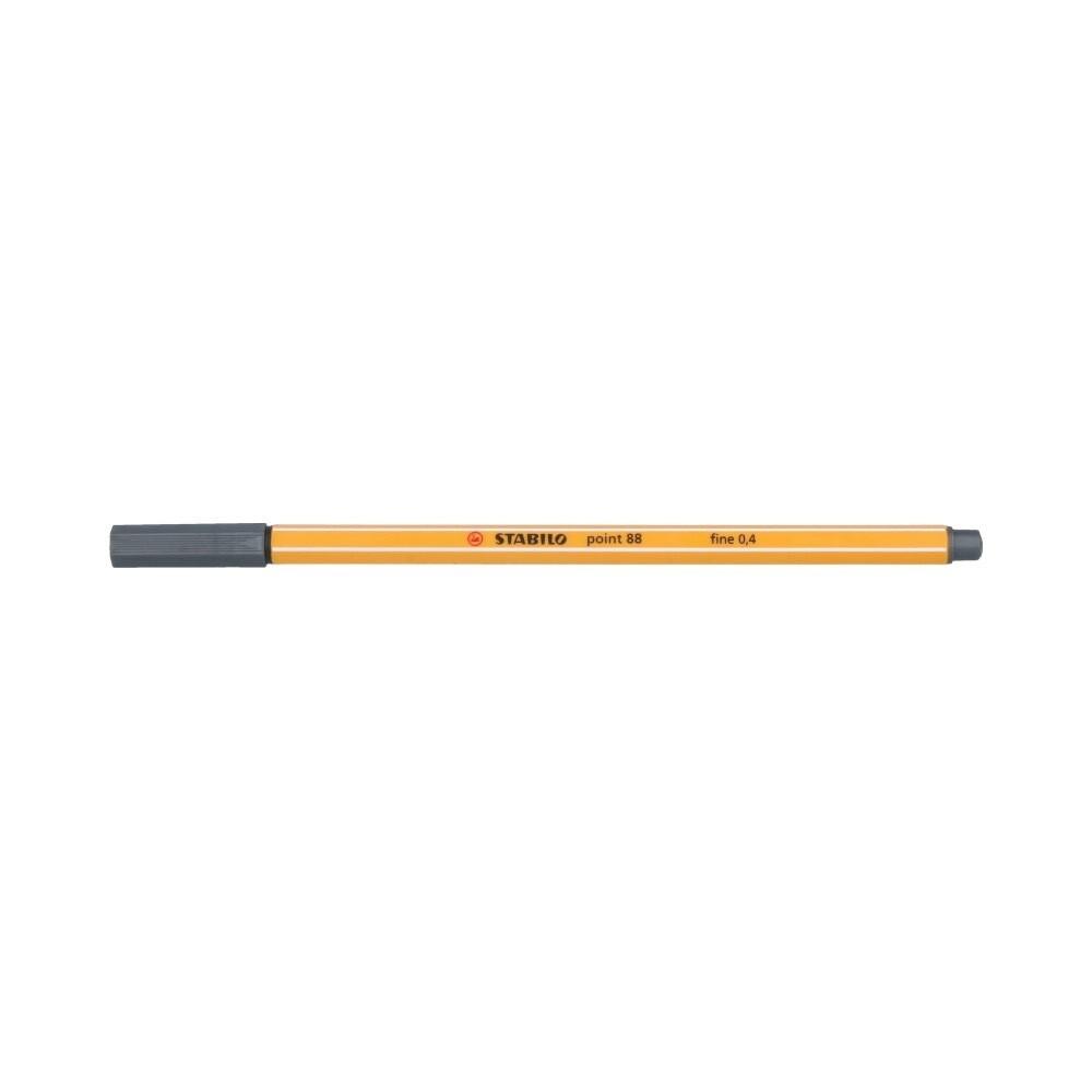 """""""Stabilo"""" Ручка капиллярная 0.4 мм холодный темно-серый 88/97"""