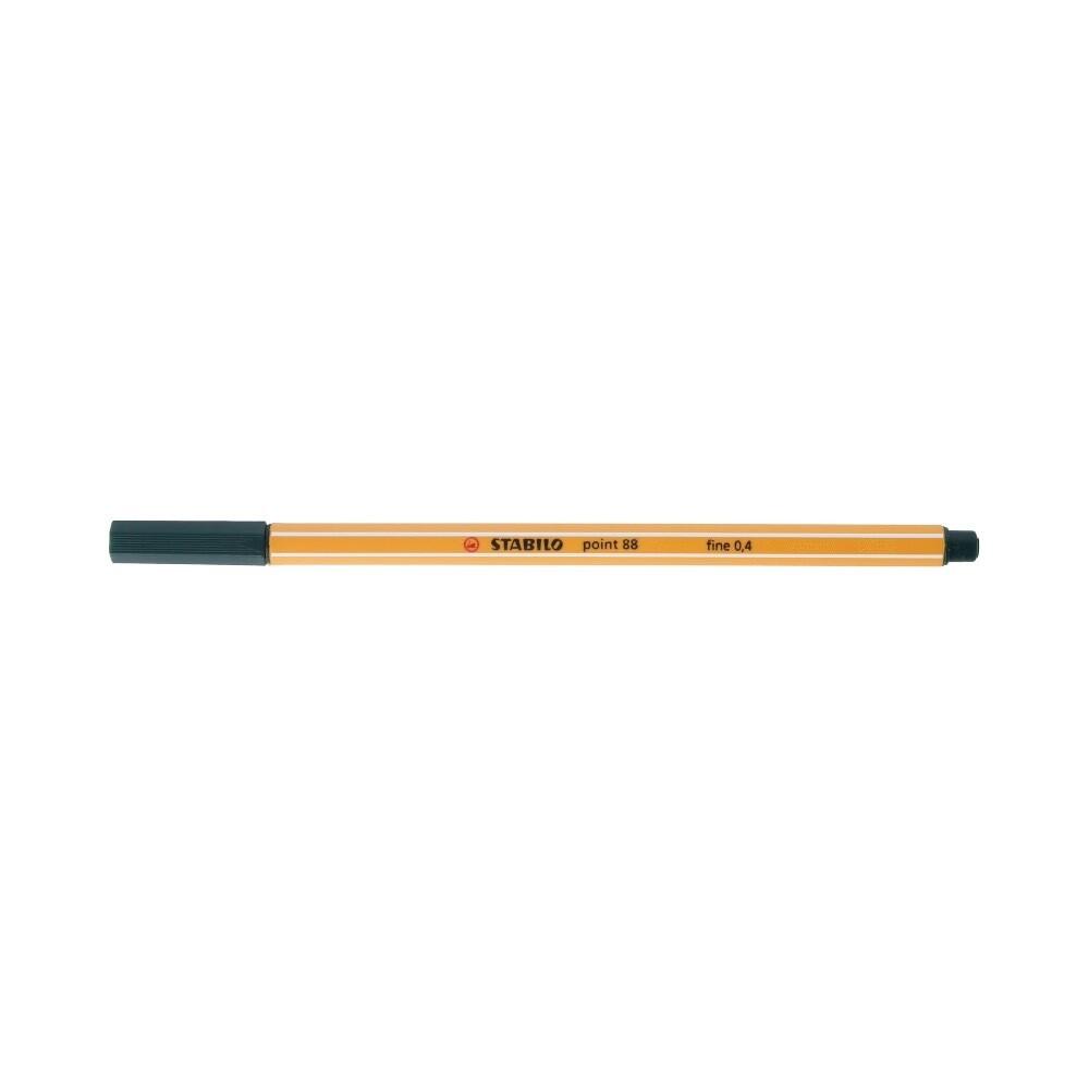"""Stabilo"" Ручка капиллярная 0.4 мм травяной зеленый 88/63"
