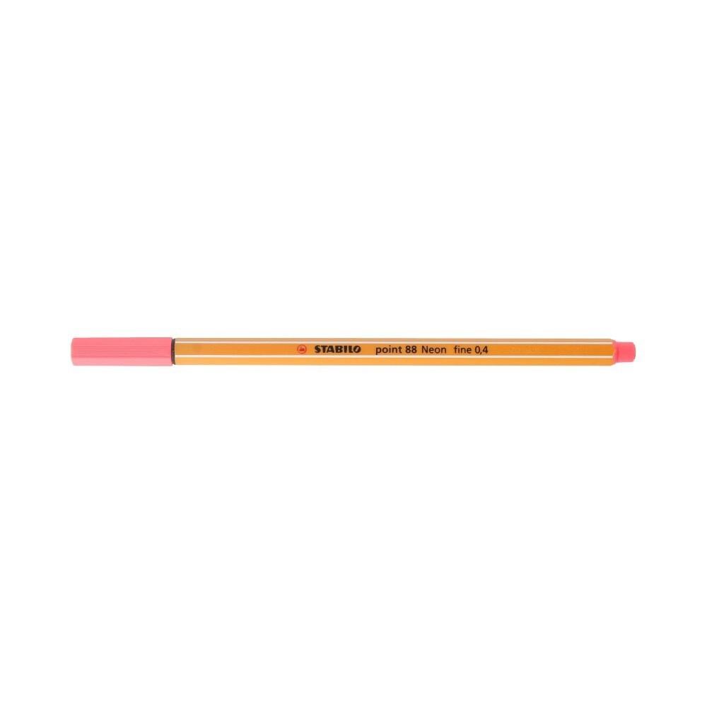 """""""Stabilo"""" Ручка капиллярная 0.4 мм красный неон 88/040"""