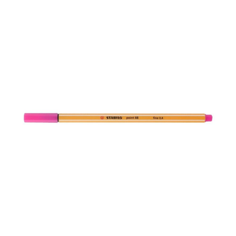 """Stabilo"" Ручка капиллярная 0.4 мм розовый 88/56"