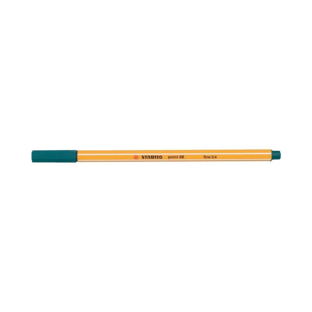 """Stabilo"" Ручка капиллярная 0.4 мм бирюзово-зеленый 88/53"