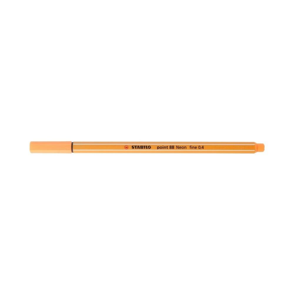 """""""Stabilo"""" Ручка капиллярная 0.4 мм оранжевый неон 88/054"""