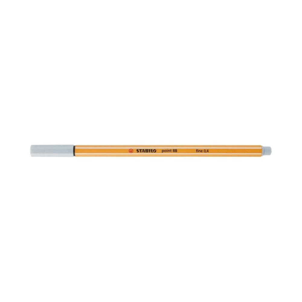"""Stabilo"" Ручка капиллярная 0.4 мм светло-серый 88/94"