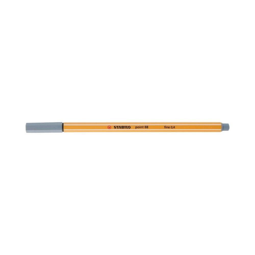 """Stabilo"" Ручка капиллярная 0.4 мм темно-серый 88/96"