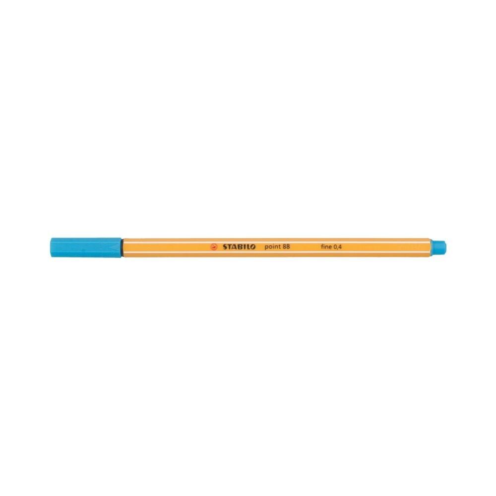 """""""Stabilo"""" Ручка капиллярная 0.4 мм голубой 88/31"""