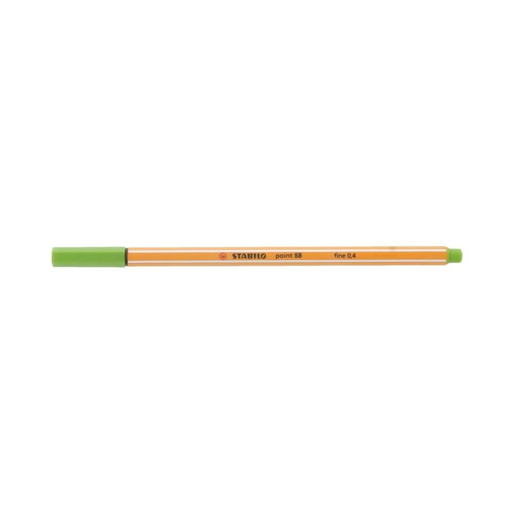 """""""Stabilo"""" Ручка капиллярная 0.4 мм светло-зеленый 88/33"""