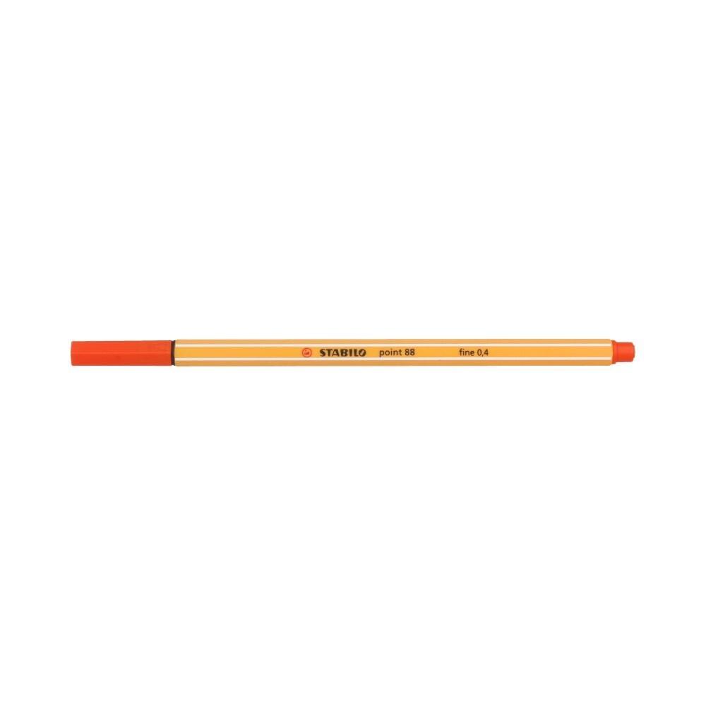 """""""Stabilo"""" Ручка капиллярная 0.4 мм светло-красный 88/48"""