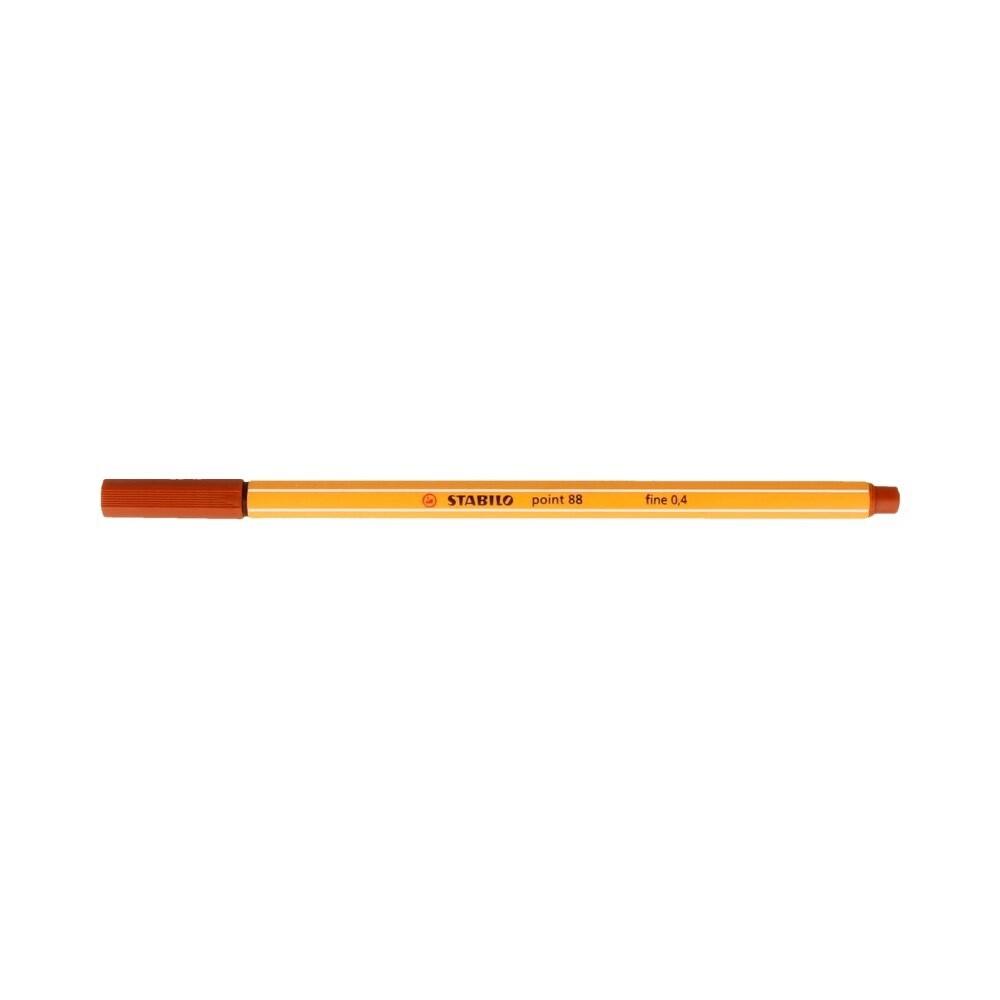 """Stabilo"" Ручка капиллярная 0.4 мм сиенна 88/75"
