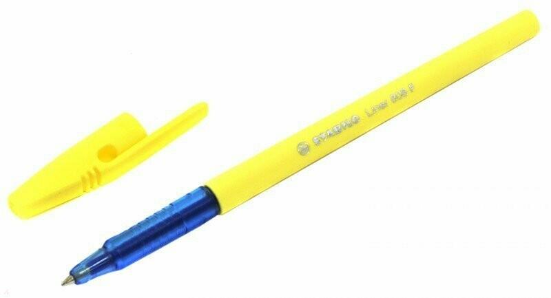 """Ручка шариковая """"Liner Pastel"""" """"808 F"""" (ванильный корпус, синяя) (808FP/41-5)"""