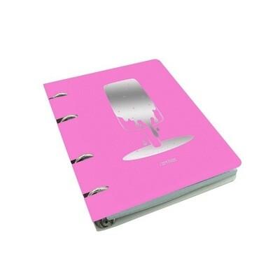 Тетради на кольцах А5 100л. клетка ColourMania Дизайн 7. ПБФ1004707