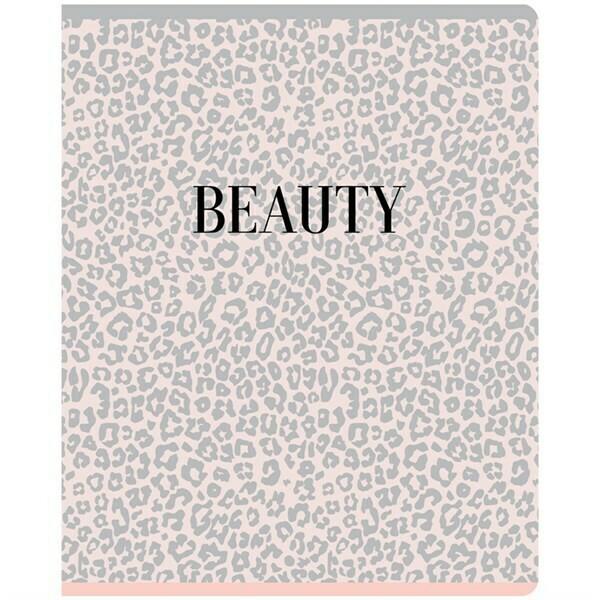 """Тетрадь 48л., А5, линия Greenwich Line """"Beauty shapes"""", матовая ламинация, тиснение фольгой, 70г/м2 N5c48-26442"""