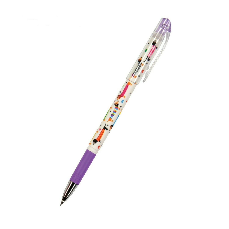 Ручка «Пиши-Стирай» гелевая DeleteWrite Happy «Розовые котята», узел 0.5 мм, синие чернила, матовый корпус Silk Touch