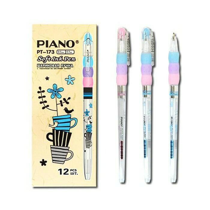 Ручка масл. шарик. PIANO PT-173