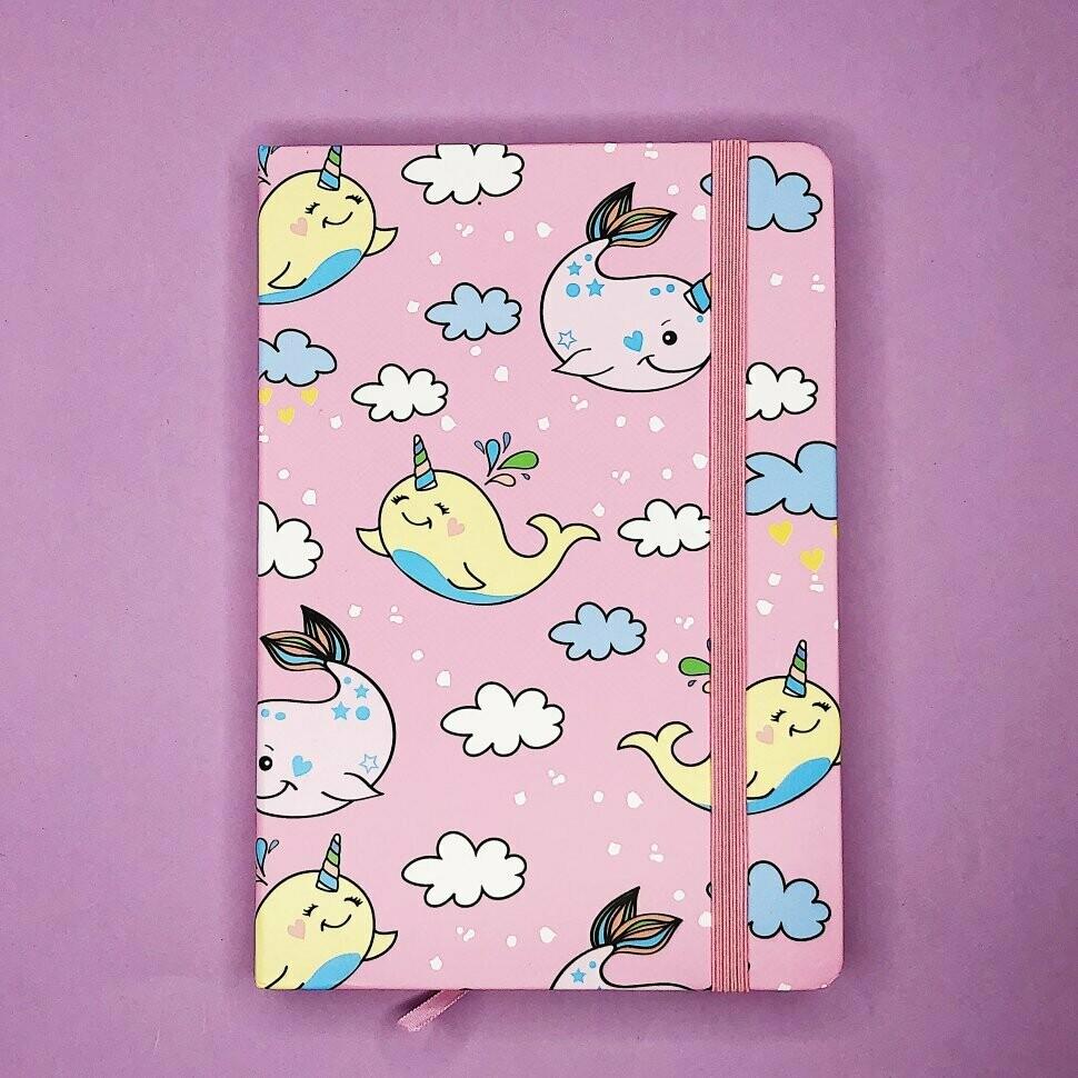 """Блокнот """"Whale"""", pink BG-A5-955-2"""