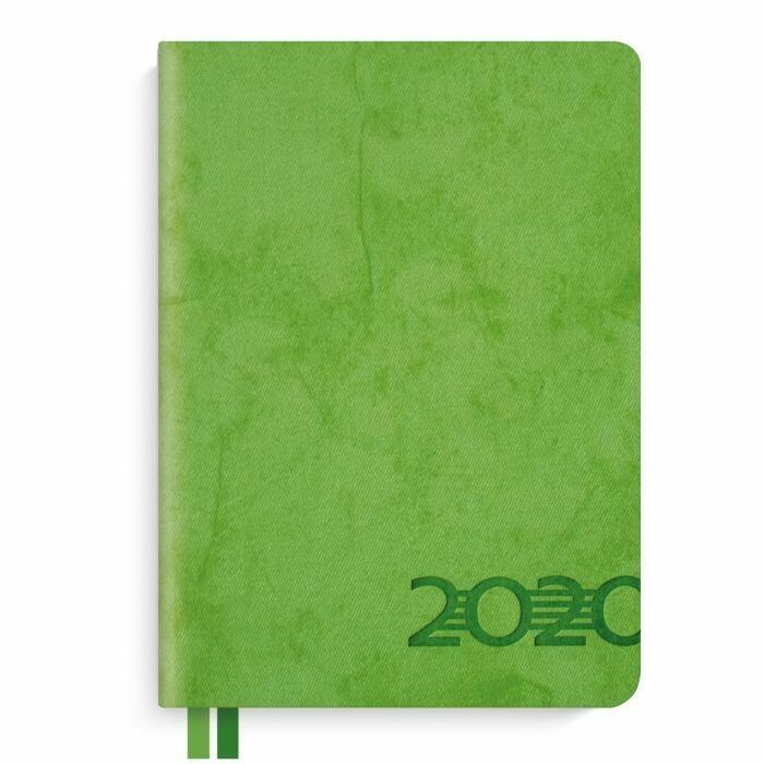 Ежедневник датированный, формат А6+, 176л., твёрдый переплёт, блинтовое тиснение