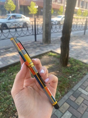Ручка гелевая: ЧЕРНАЯ, K145  0.5