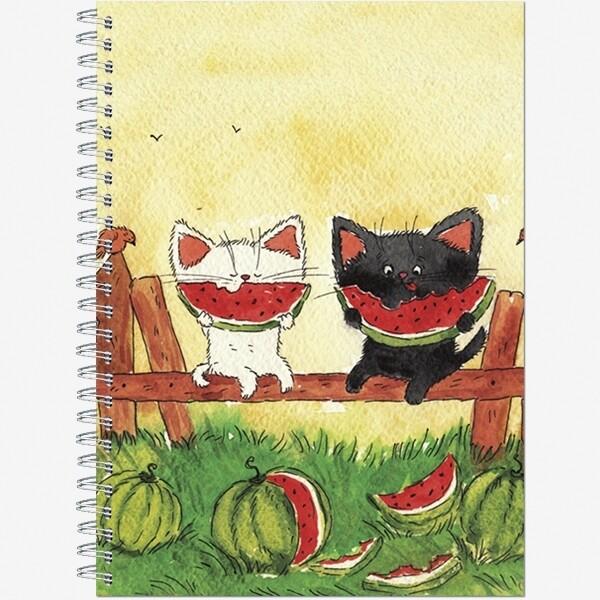 "Блокнот для зарисовок Sketchbook А5 ""Хвостики"", 60л., офсет 100г/м2, ламин жест обл"