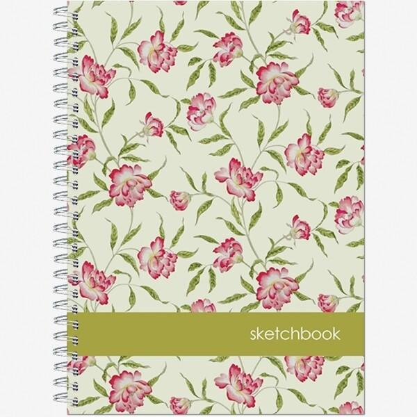"""Блокнот для зарисовок Sketchbook А5 """"Нежность"""", 60л., офсет 100г/м2, ламин жест обл2822"""