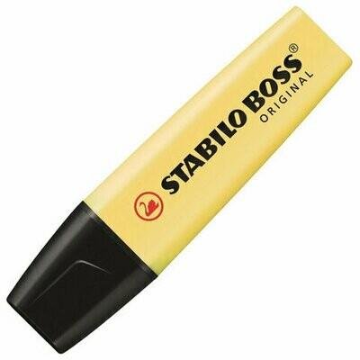 Текстовыделитель 2-5мм Stabilo Boss Original Pastel 70/144 ваниль