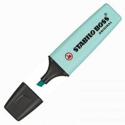 Текстовыделитель 2-5мм Stabilo Boss Original Pastel 70/113 бирюзовый