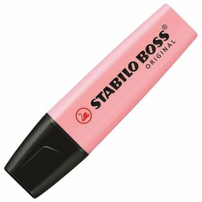 Текстовыделитель 2-5мм Stabilo Boss Original Pastel 70/129 розовый