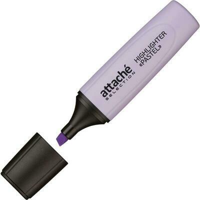 Маркер выделитель текста Attache Selection Pastel 1-5 мм фиолетовый