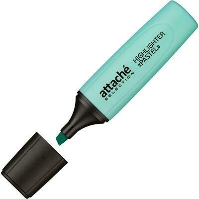 Маркер выделитель текста Attache Selection Pastel 1-5 мм голубой