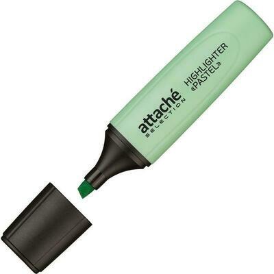 Маркер выделитель текста Attache Selection Pastel 1-5 мм зелёный