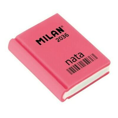 Ластик пластиковый Milan 2036 в форме книжки, цв. в ассорт