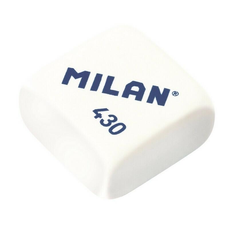 Ластик каучуковый Milan 430, цв. в ассорт
