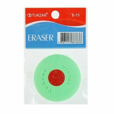 Ластик - диск с пластиковым держателем TZ 13